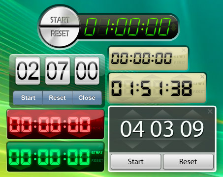 Easy to use timer for your desktop.
