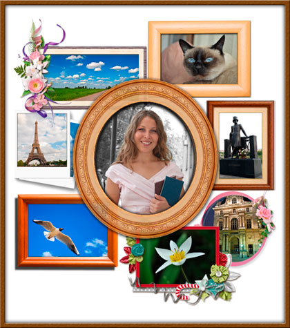 Free Photo Frame 1.1 Le foto in cornice sul Desktop